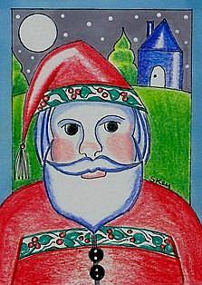 Art: Where Is Santa? by Artist Sherry Key