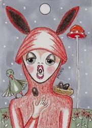 Art: The Brown Egg Hatcher by Artist Sherry Key