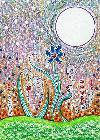 Art: Fantasy Landscape-Sold by Artist Sherry Key