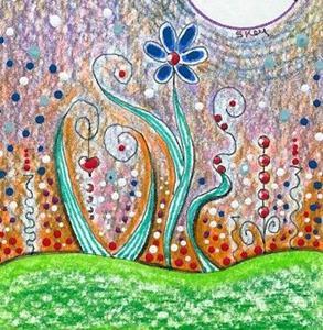 Detail Image for art Fantasy Landscape-Sold
