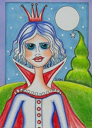 Art: Snow Queen-Sold by Artist Sherry Key