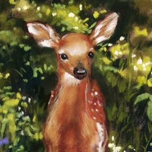 Detail Image for art ACEO Giclee Print ~ Wobbly Legs