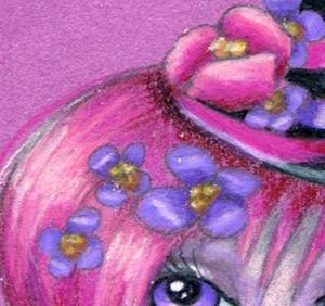 Detail Image for art Violet Thoughts