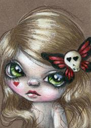 Art: Molly Doll by Artist Sour Taffy
