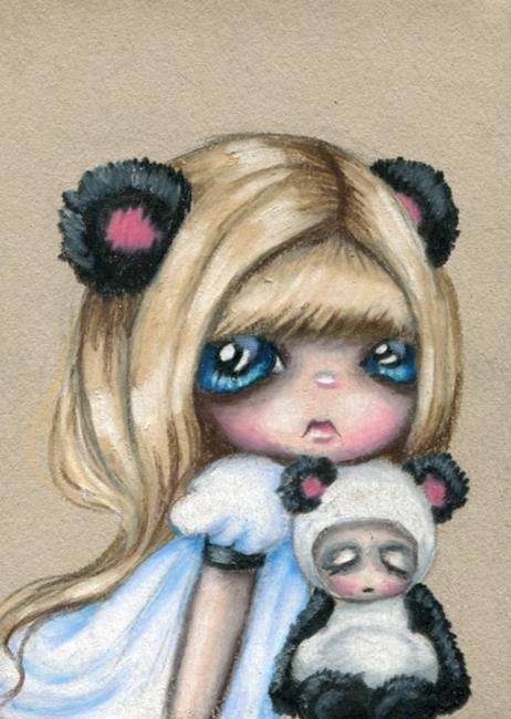 Art: Polly Panda by Artist Sour Taffy