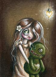Art: Closet Monster by Artist Sour Taffy