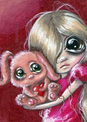 Art: Cuddles by Artist Sour Taffy