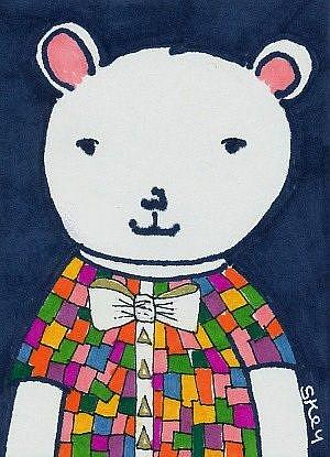 Art: Five Dollar Bear-SOLD by Artist Sherry Key
