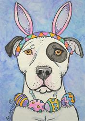 Art: The Easter Bully 2014 by Artist Melinda Dalke