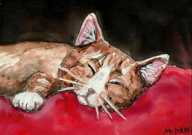 Art: Sleeping Beauty by Artist Melinda Dalke