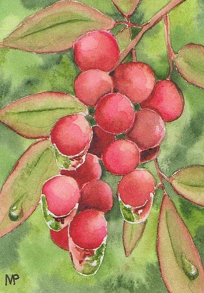 Art: Morning Dew by Artist Melanie Pruitt