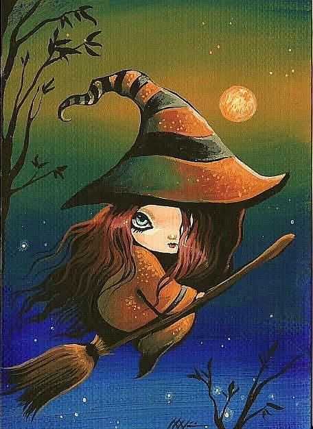 Art: Witch Night by Artist Nico Niemi