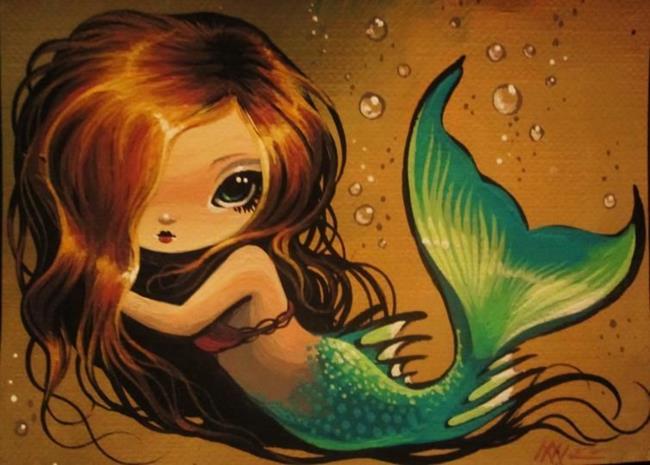 Art: Little Mermaid by Artist Nico Niemi
