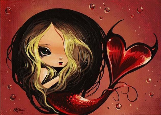 Art: Little Lovely by Artist Nico Niemi