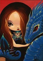 Art: Kella Drakonette by Artist Nico Niemi