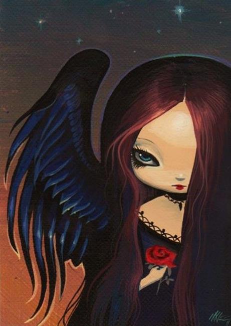 Art: Dark Angels Morning by Artist Nico Niemi
