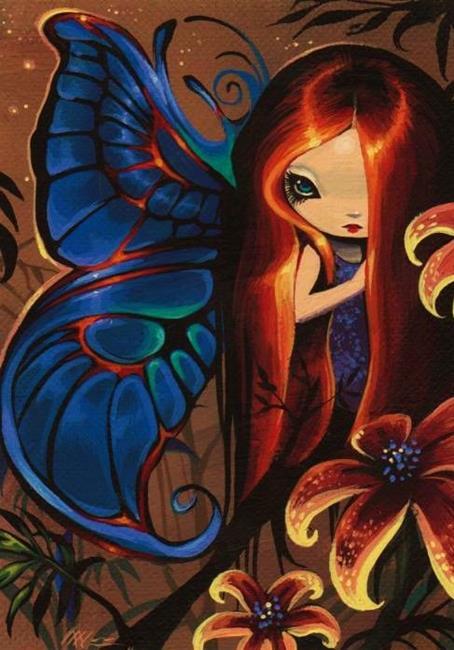 Art: Firelily Fae by Artist Nico Niemi