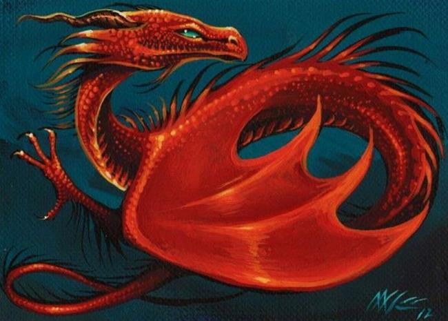 Art: The Dragon by Artist Nico Niemi