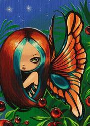 Art: Tropical Berry Fae by Artist Nico Niemi