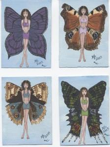Detail Image for art Butterfly Fairy #5 Great purple hairstreak
