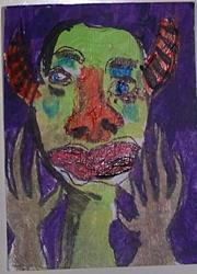 Art: Hand Up by Artist Nancy Denommee