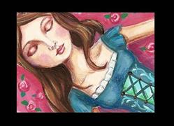 Art: Sleeping Beauty by Artist Betty Stoumbos