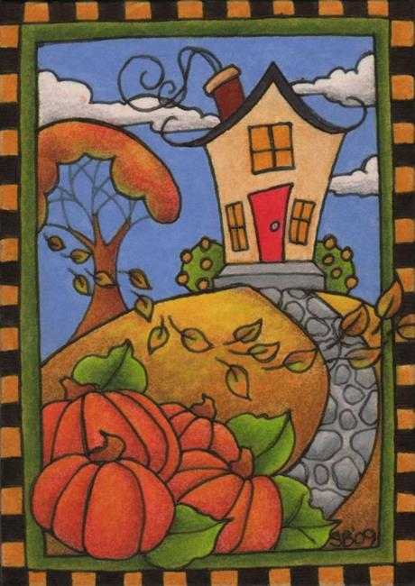 Art: Fall Is Here (sold) by Artist Shelly Bedsaul