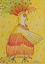 Art: Struttin Like A Peacock by Artist Sherry Key