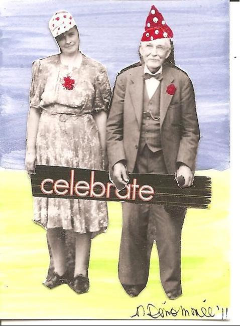 Art: Celebrate by Artist Nancy Denommee