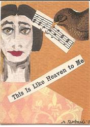 Art: This Is Like Heaven to Me SOLD by Artist Nancy Denommee