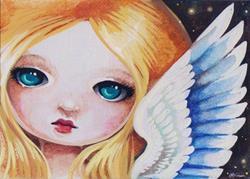 Art: Angel Eyes by Artist Nico Niemi