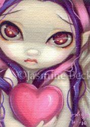 Art: Faces of Faery #70 ACEO by Artist Jasmine Ann Becket-Griffith
