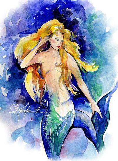 Art: Celeste by Artist Kathy Morton Stanion