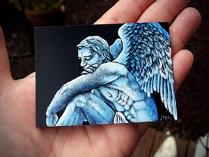 Detail Image for art Male Angel  (SOLD)