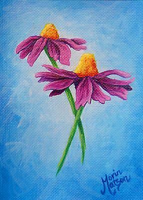 Art: Daisies  (SOLD) by Artist Monique Morin Matson