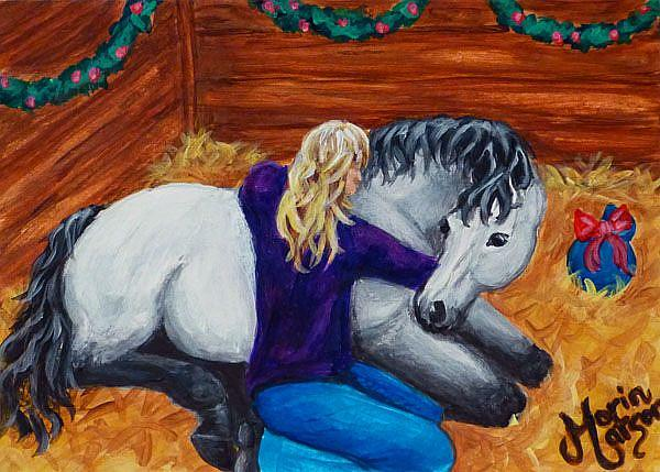 Art: Unconditional Love (SOLD) by Artist Monique Morin Matson