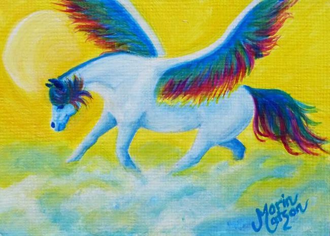 Art: Heaven's Angel (SOLD) by Artist Monique Morin Matson