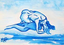 Art: Ocean of Desire (SOLD) by Artist Monique Morin Matson