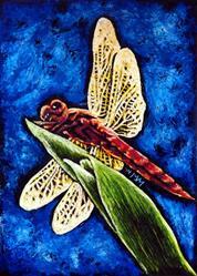 Art: Dragonfly  (SOLD) by Artist Monique Morin Matson