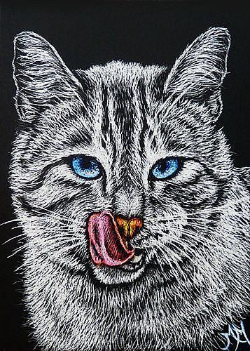 Art: Yummy! (SOLD) by Artist Monique Morin Matson