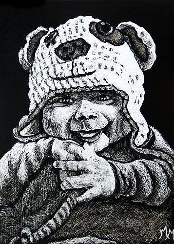 Art: Luca (Commission) by Artist Monique Morin Matson