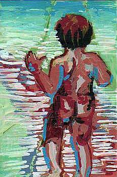 Art: Baby Steps/Leaving Home by Artist Judith A Brody