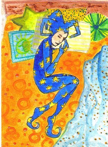 Art: Sleepy #6 in Joker series by Artist Emily J White