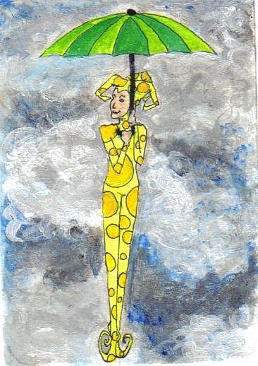 Art: Delightful #7 in Joker series by Artist Emily J White