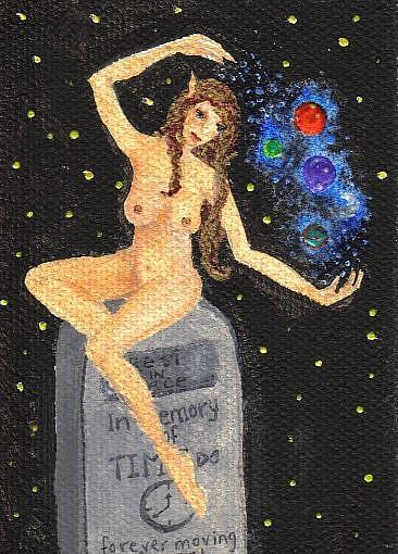 Art: Moving On by Artist Emily J White