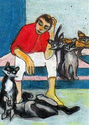 Art: A Plethora of Cats by Artist Judith A Brody