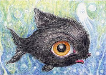 Art: Fuzzy Wuzzy by Artist Vicky Knowles