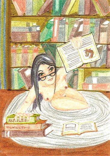 Art: Nude Study # 5 by Artist Emily J White