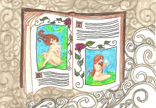 Art: Nude Study #7 by Artist Emily J White