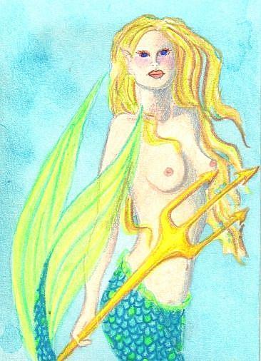 Art: Gone Fishin' by Artist Emily J White